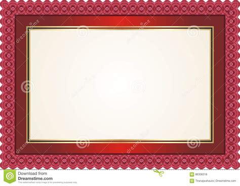 frame border  bright color style design stock vector