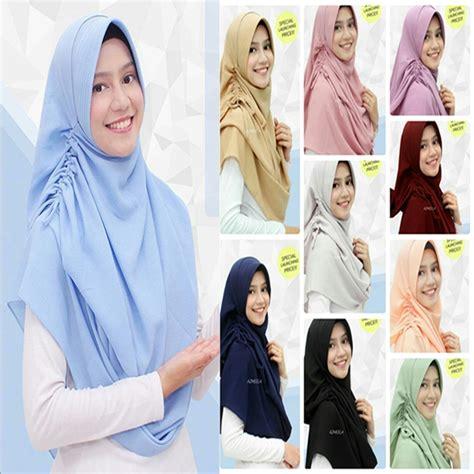 jilbab pashmina instan sherina model jilbab terbaru
