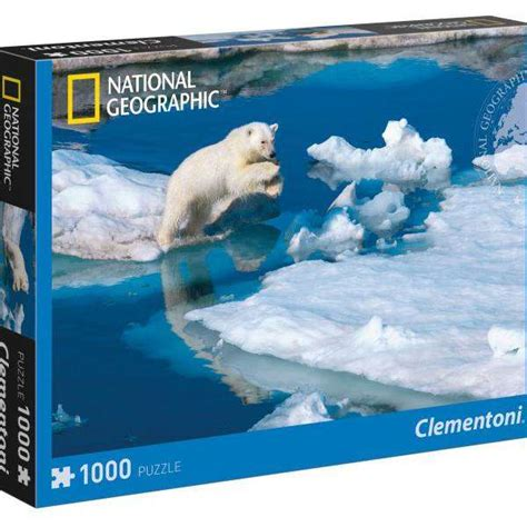 National Geographic  Polar Bear  1000pc Jigsaw Puzzle
