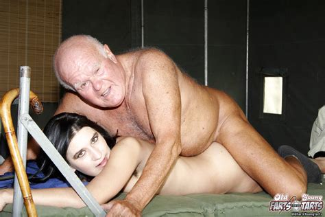 Dirty Grandpa Loves To Pound A Hairy And Wet Teenage Pussy