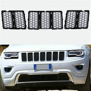 2019 Black Front Grill Mesh Grille Insert Kit For 2014 2015 Jeep Grand Cherokee From Tdeal1998