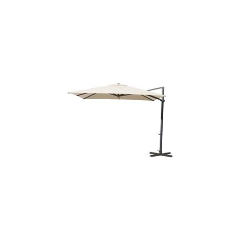 parasol d 233 port 233 carr 233 260x260cm inclinable et orientable
