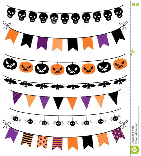 Download your collections in the code format compatible with all browsers, and use icons. Vector Colletion Of Halloween Banners, Buntings And ...