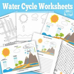 Label The Diagram Of Water Cycle  Worksheets  Tutsstar