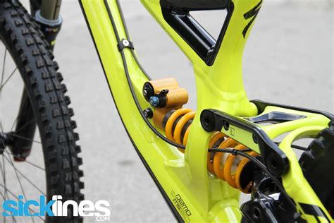 2014 Specialized Demo 8 II Black Hyper Green Ohlins TTX ...