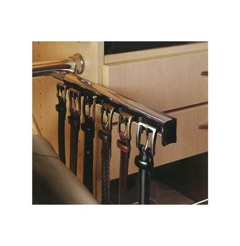 Belt Holder For Closet by Belt Rack 6 Hooks Contempo Space