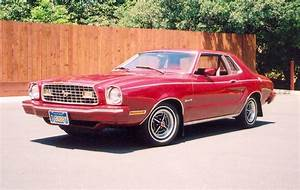Dark Red 1975 Ford Mustang II Coupe - MustangAttitude.com Photo Detail