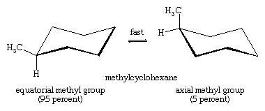 chair conformations of methylcyclohexane isomerism chemistry conformational isomers