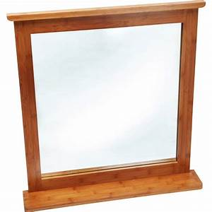 Spiegel Mit Ablage : eisl bambus spiegel mit ablage kaufen bei obi ~ Frokenaadalensverden.com Haus und Dekorationen