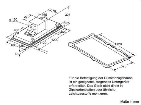 Siemens Lf159re50 Deckenhaube Edelstahl