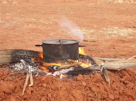 cfire cooking photo of c fire cooking free australian stock images