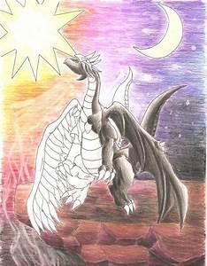 Light and Darkness Dragon by darknight0x0 on DeviantArt