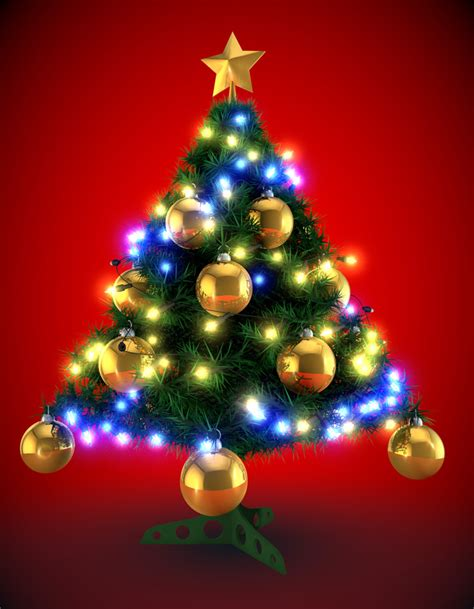 arbol de navidad 3d davidmorenofilms