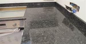 Steel Grey Granite Countertops images