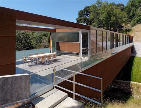 Bridge House Design  A Bridge Over A Ravine