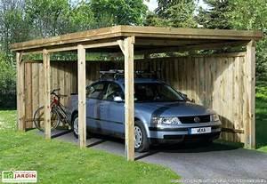 Abri De Jardin En Bois Brico Depot : abri voiture bois brico depot abri pour voiture en bois ~ Dode.kayakingforconservation.com Idées de Décoration
