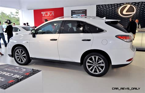 Elegantly Crafted Interior by 2015 Lexus Rx350 Crafted Line Pebble Debut In Detail