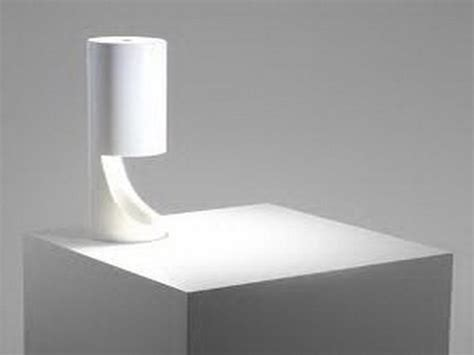 Bloombety Modern White Bedside Lamps Attractive Design Of