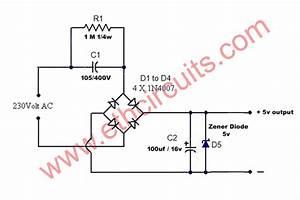 Best 12v Transformerless Power Supply Circuit Diagram