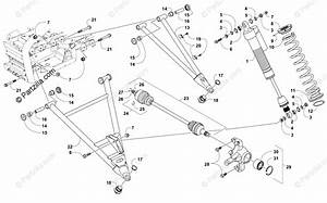 Arctic Cat Side By Side 2015 Oem Parts Diagram For Front