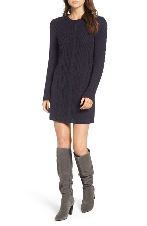 navy sweater dress the best sweater dresses for fall 2017 and winter