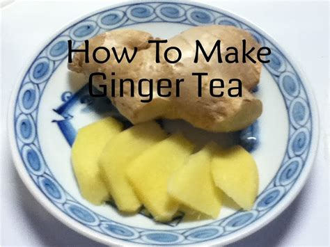 recipes using fresh fresh ginger tea recipe nature s antibiotic the master vegan youtube