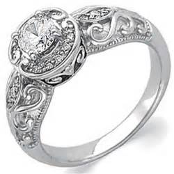 affordable vintage engagement rings vintage wedding ring siji ipunya