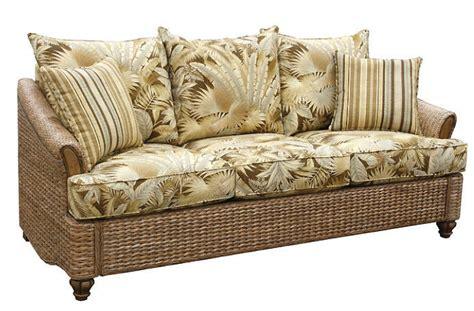 wicker sectional sofa indoor plantation indoor wicker and rattan queen sleeper sofa ebay