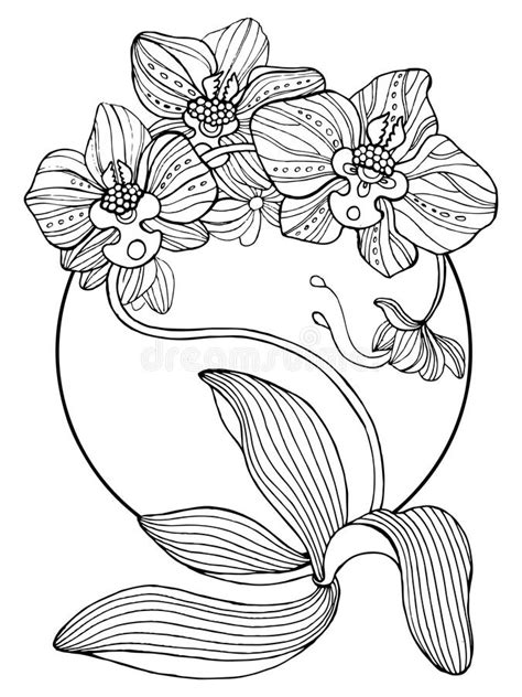 Orchid Tattoo Stock Illustrations – 916 Orchid Tattoo Stock Illustrations, Vectors & Clipart
