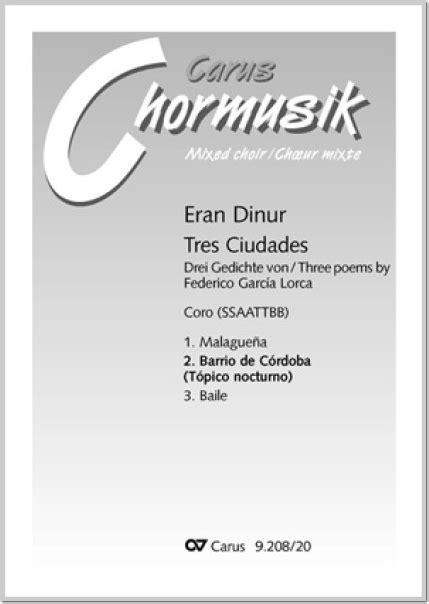 barrio de cordoba aus tres ciudades  poems