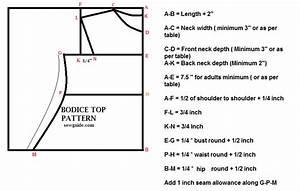 A Basic  Bodice  Pattern