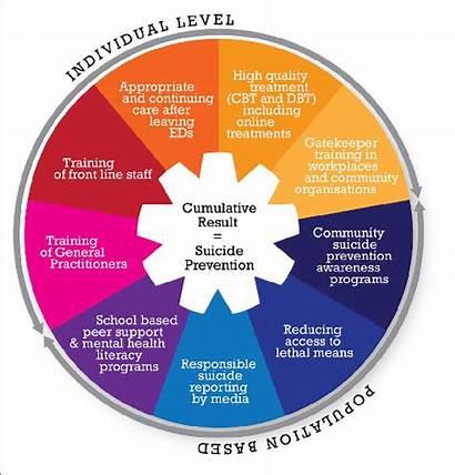 Suicide Prevention Strategies Proposed Diagram