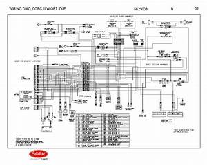 Detroit Diesel Ddec Iii With Optional Idle Engine Wiring Diagram Schematic