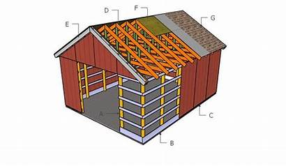 Pole Barn Plans Building Shed Howtospecialist Step