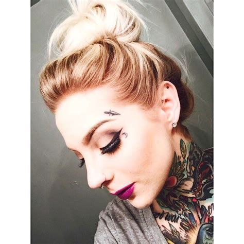 small face tattoos for girls - Google Search   Tattoos ...