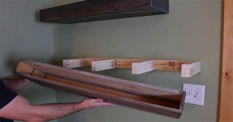 diy wood floating shelves    floating shelves