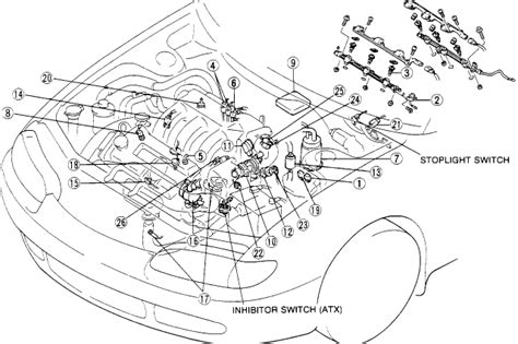 Mazda Mx 5 Vacuum Diagram by Mazda Mx 6 Engine Diagram Downloaddescargar
