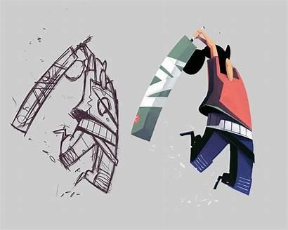 Illustration Process Rohlfs Battle Thomas Behance Max