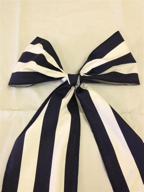 black and white stripe cotton chair sash 4 5 quot wide x 72