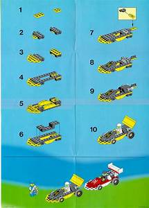 Lego Dual Fx Racers Instructions 1665  Town