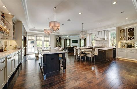 27 Open Concept Kitchens (pictures Of Designs & Layouts. Country Kitchen Cabinet Colors. Kitchen Wall Paint Colors Ideas. Kitchen Tile Ideas Floor. Popular Kitchen Countertops. Kitchen Dark Floors. Home Depot Backsplash Kitchen. Behr Kitchen Colors. Kitchen Countertops Wood