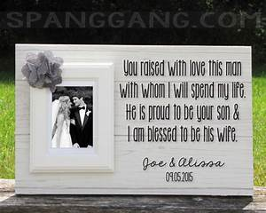Wedding gift for parents of the groom gift by spanggangdesigns for Parent gifts for wedding