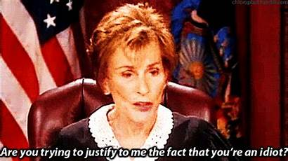 Judy Judge Re Trying Ending Things Period