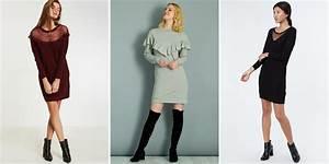Bottines Avec Robe : comment porter la robe pull ~ Carolinahurricanesstore.com Idées de Décoration