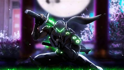 Overwatch Wallpaper Animated - animated wallpaper genji overwatch