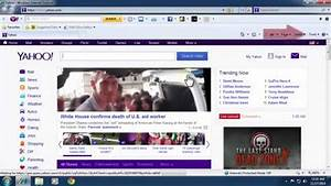 How To Remove Yahoo Toolbar From Internet Explorer  Ie