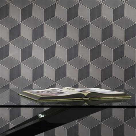 johnson tiles absolute collection avoir graphite decor