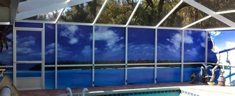 outdoor privacy screens for patio pool enclosures