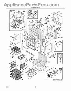 Parts For Electrolux Ew27mc65js2  Lower Oven Parts