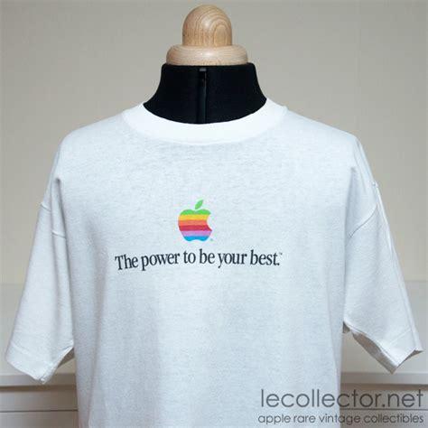 vintage rare white apple computer  shirt size large fruit
